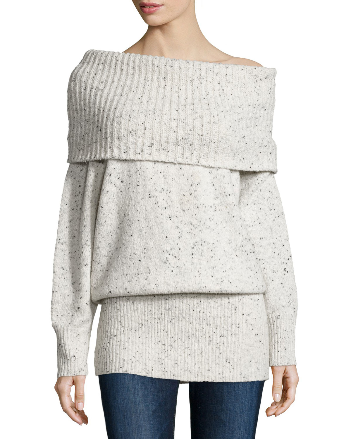 Joie Femie Oversized Cowl-neck Tunic Sweater | Lyst